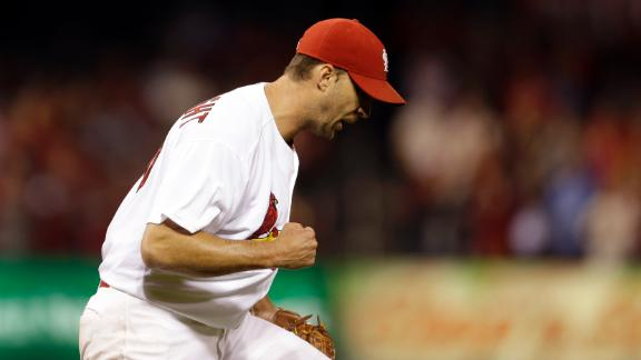 Video - Wainwright Tosses Shutout