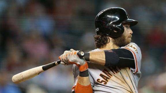 Video - Crawford Powers Giants Past D-backs