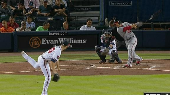 Video - Souza's First-Career Homer
