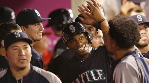 Mariners rout Angels, gain in wild-card race