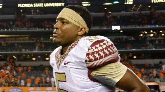 Winston Suspended First Half Against Clemson