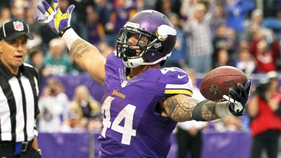 Who Gets The Ball For The Vikings?