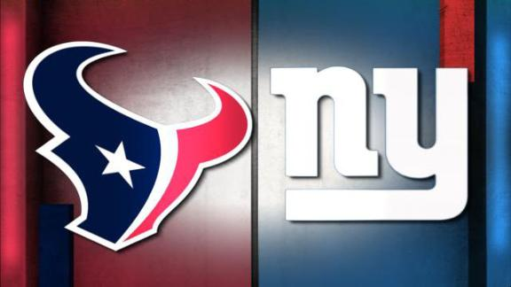 NFL Live Prediction: Texans-Giants