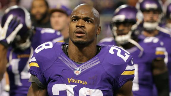 Vikings Place Peterson On Exempt List