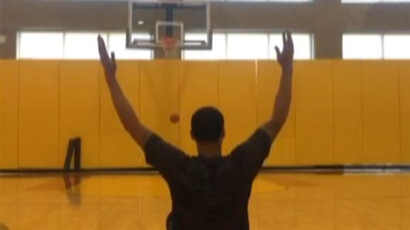 Video - Napier Nails Awesome Trick Shot
