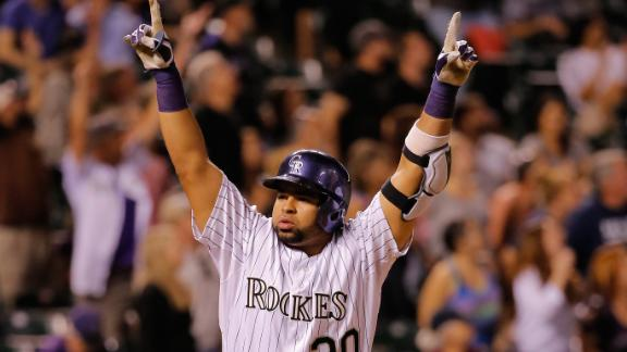 Video - Rockies Walk Off On Rosario's Homer