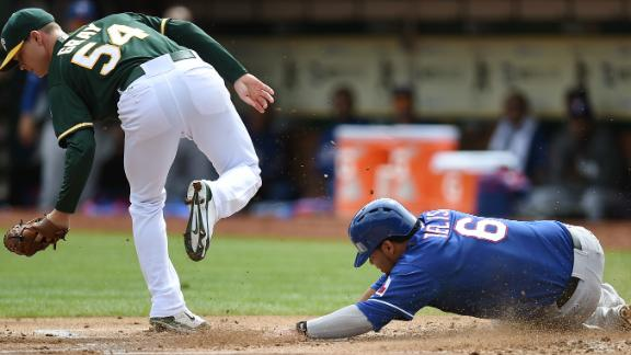 Video - Rangers Sweep A's