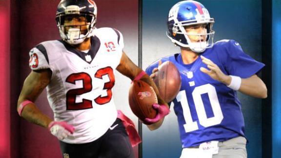 Inside Edge: Texans-Giants