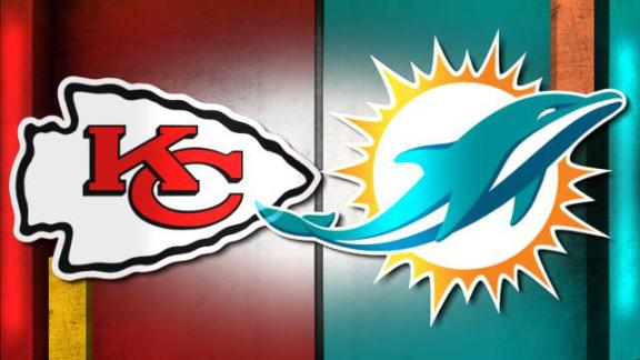 NFL Live Prediction: Chiefs-Dolphins