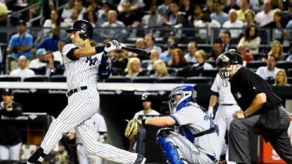 Yankees Walk Off For Second Straight Win