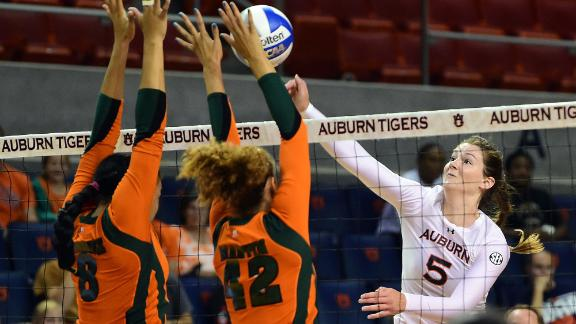 Auburn takes down Florida A&M 3-0