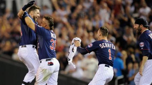 Video - Twins Walk Off With Win