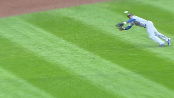 Video - Puig's Flying Catch