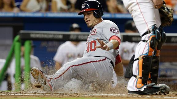 Zimmerman triples in return to help lift Nats