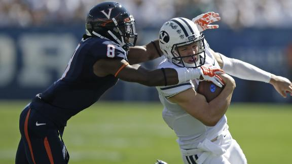 BYU Gets Enough From Hill To Beat UVA