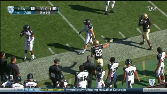 4Q COLO S. Liufau pass,to N. Spruce for 16 yds for a 1ST down