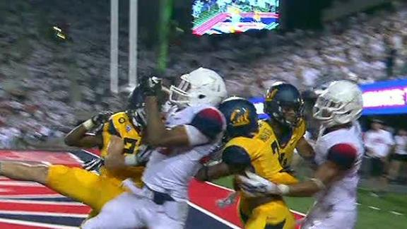 Arizona Wins On Hail Mary