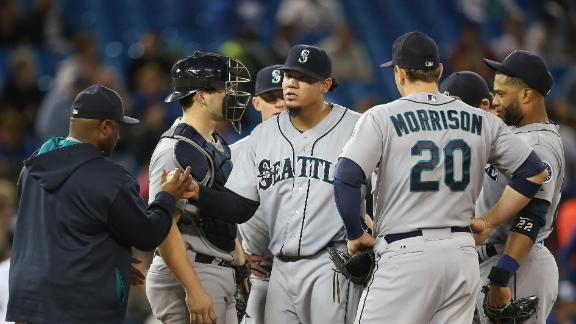 Video - King Felix, M's Crushed By Blue Jays