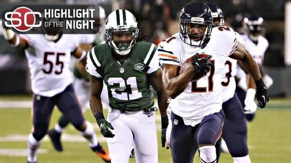 Bears Hold Off Jets