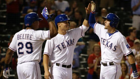 Video - Rangers Win Fourth Straight