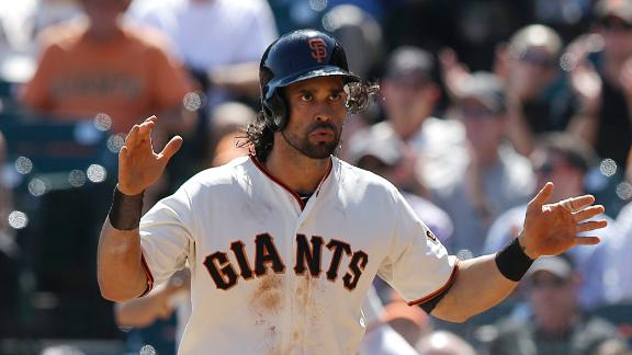 Angel Pagan Out For Playoffs