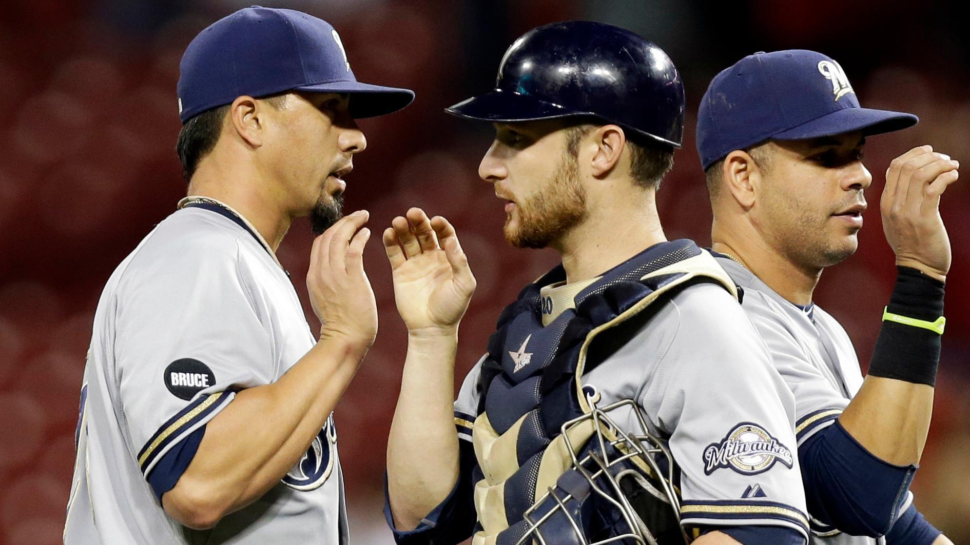 Video - Brewers Shut Out Reds