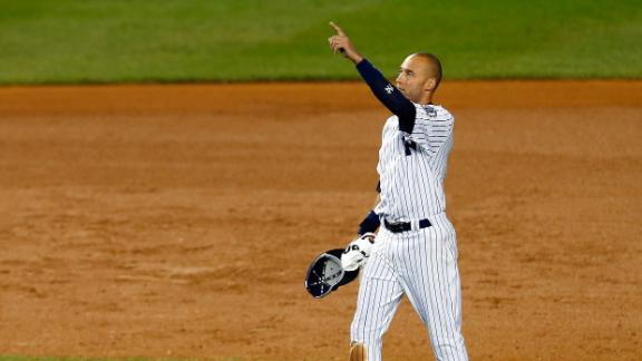 Jeter Goes Out In Style