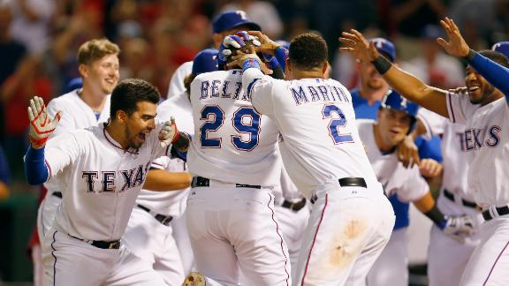 Video - Beltre's Walk-Off Homer Lifts Rangers