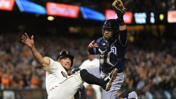 Video - Giants Clinch Playoffs, Rally Past Padres
