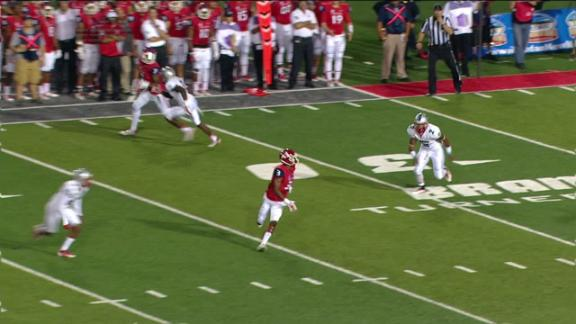 4Q FRES B. Burrell pass,to J. Harper for 19 yds for a 1ST down