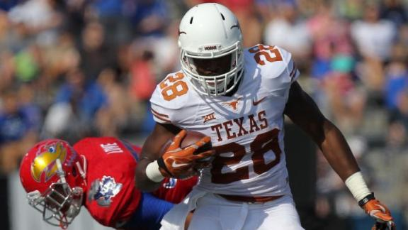 Texas Shuts Out Kansas in Big 12 Opener