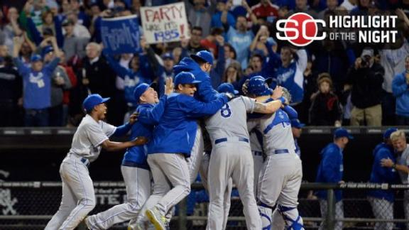 Video - Royals' First Playoff Berth Since 1985