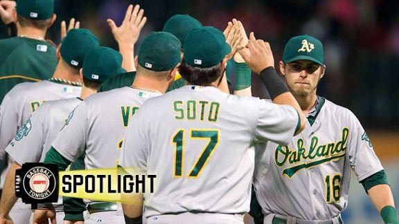 Video - A's Win, Inch Closer To Wild-Card Berth