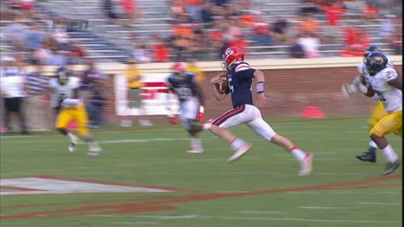 3Q UVA M. Johns run for 42 yds for a 1ST down