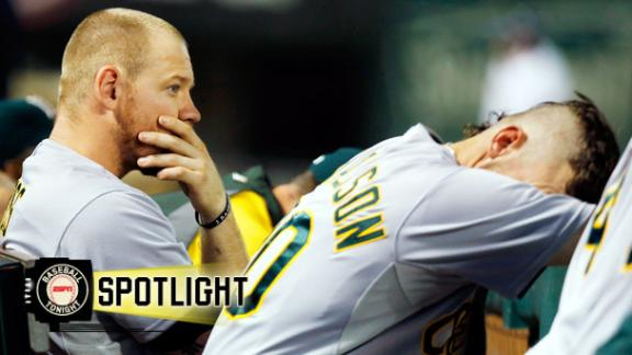 Video - A's Fall To Rangers