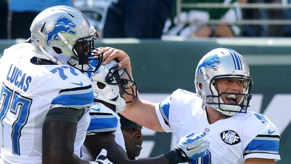 Stafford Strong In Lions' Win