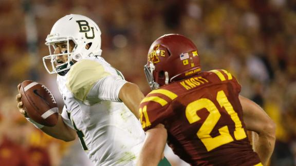 Baylor Coasts Past Iowa State