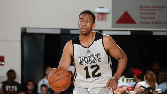 Parker Talks About Being 'The Man' For Bucks