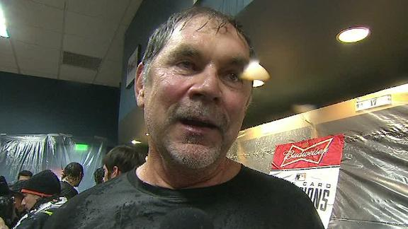 Video - Bruce Bochy On Wild-Card Win