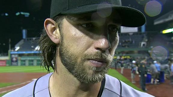 Video - Bumgarner On Giants' Wild Card Win