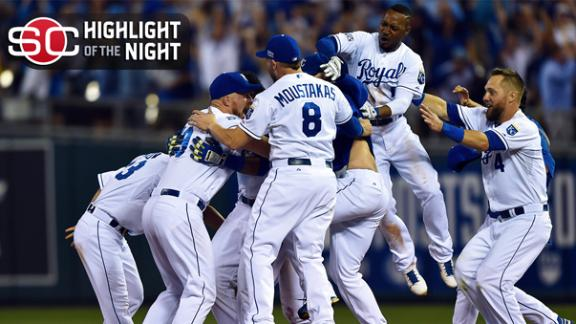 Royals Rally For Wild-Card Walk-Off Win
