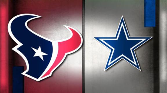 NFL Live Prediction: Texans-Cowboys