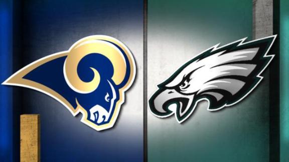 NFL Live Prediction: Rams-Eagles