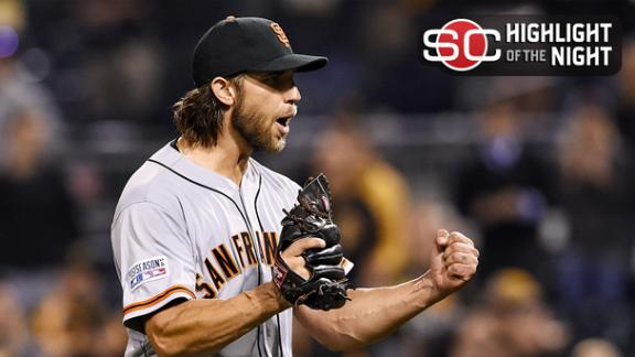 Giants Shut Out Pirates In NL Wild-Card Game