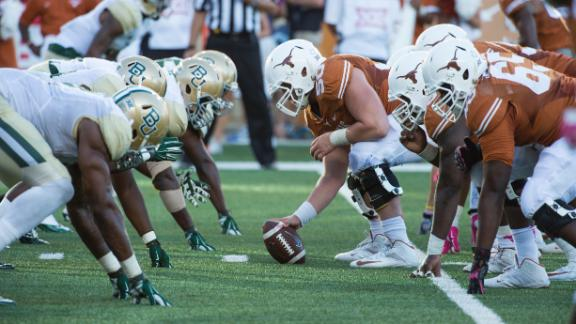 Texas Falls to Baylor 28-7