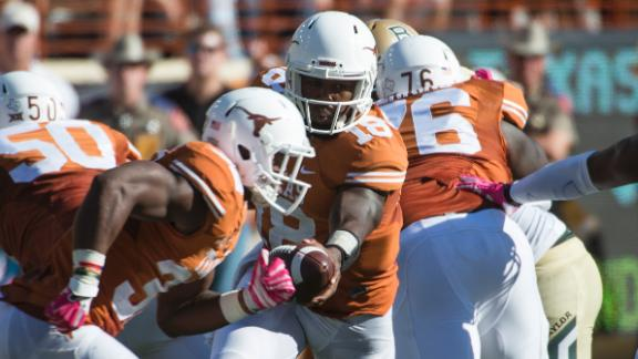 Texas Suffers Loss to Baylor