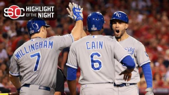 Video - Royals Top Angels In 11 To Take 2-0 Lead