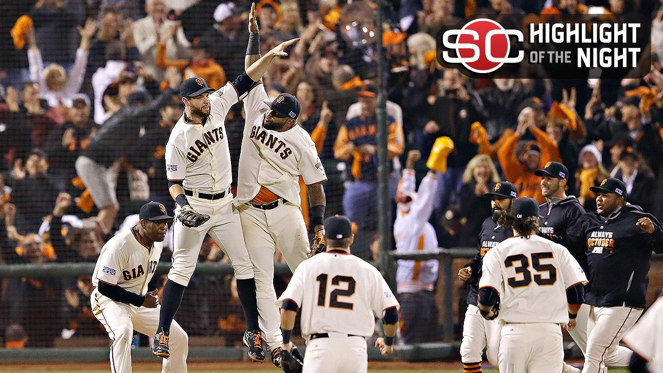 Video - Giants Eliminate Nationals