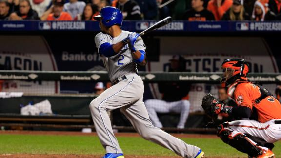 Video - Escobar Lifts Royals