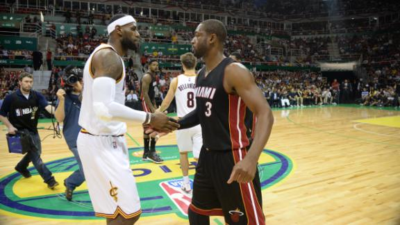 Cavs Beat Heat In Brazil